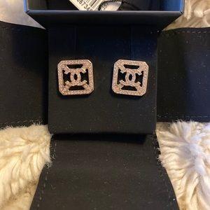 Chanel Rosegold Earrings